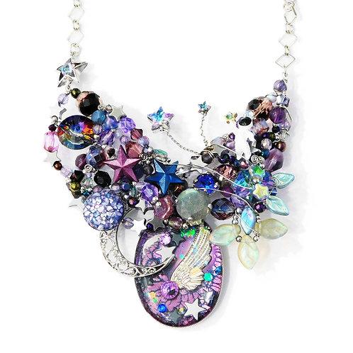 《Kumanouno.lab》I'm Dream Catcher necklace
