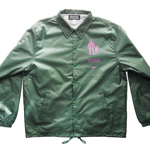 《INC NOXXX SCREAMING》EJECT LOOP coach jacket / DEEP GREEN※送料無料