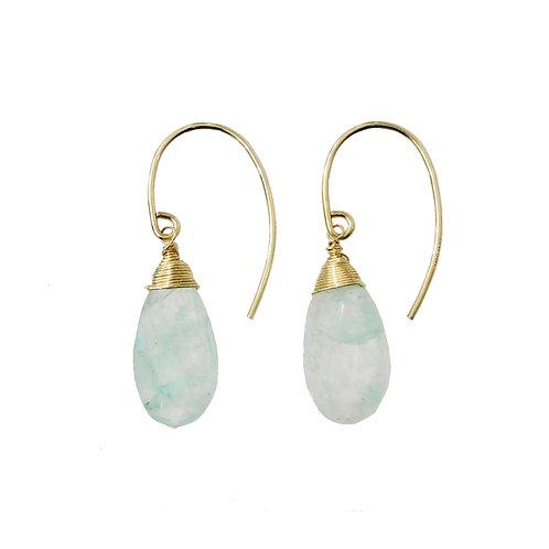 《KUON》14kgf grapolite quartz exotic ピアス※送料無料