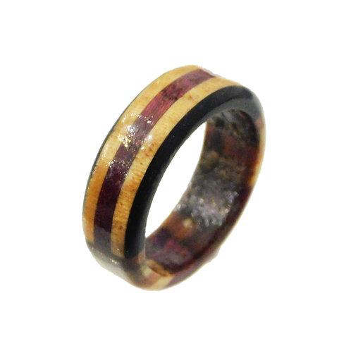 《BOSK》Stripe Ring / Circle ※送料無料