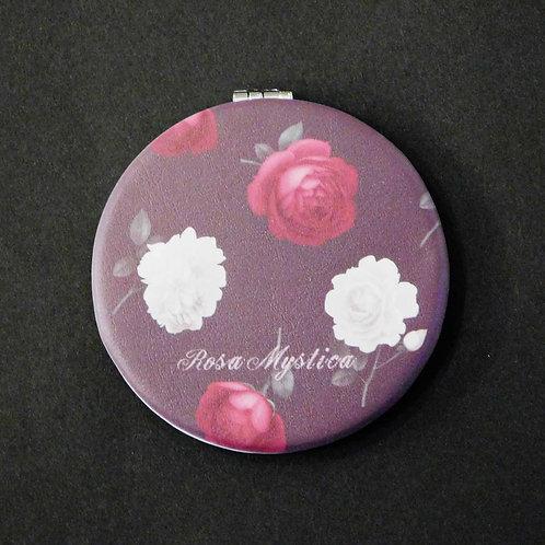 《Rosa Mystica》コンパクトミラー/ローズ&チャコール