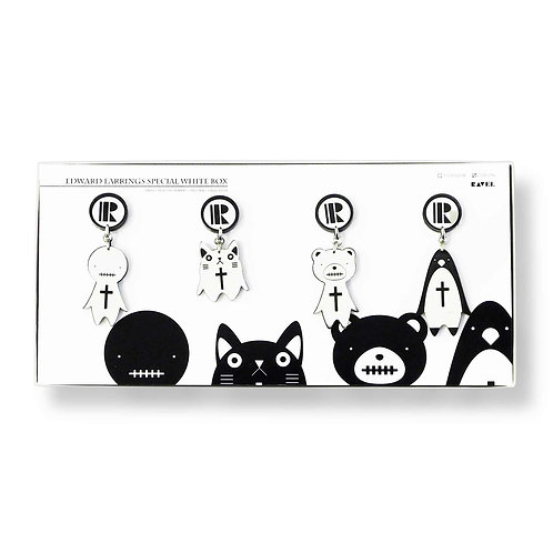 EDWARD FAMILY EARRINGS BOX SET ※送料無料
