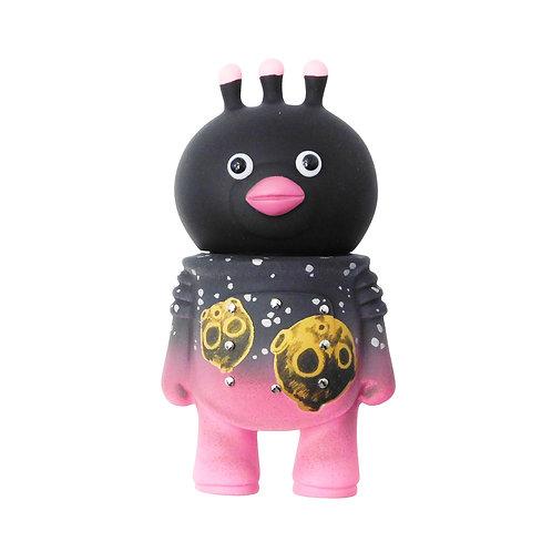 《Hatsutorin》ソフビフィギュア「フンフン」Meteor Black※RAVEL別注カラー
