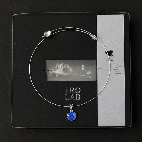 《IRO LAB》十二星座に捧ぐチョーカーとキーホルダーのセット