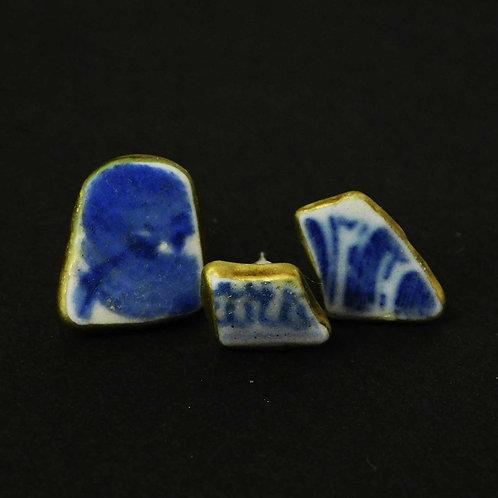 《iyu》選べる陶器の金継ぎピアス/3点セット