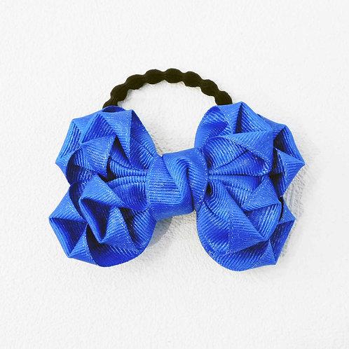 《ゆきのいえ》花咲きリボン※BLUE