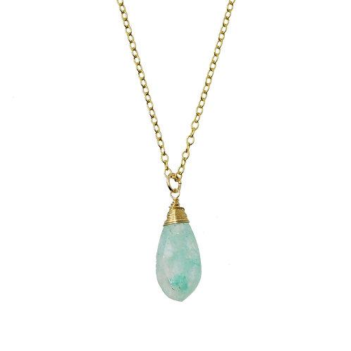 《KUON》14kgf grapolite quartz exotic ネックレス