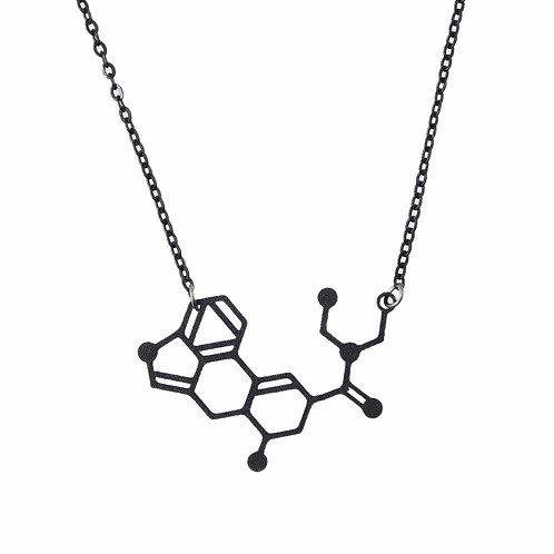 《科学雑貨Scientia》LSDネックレス※ブラック