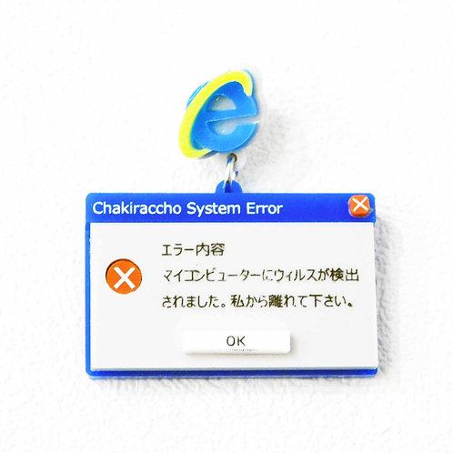 《CHAKIRACCHO》System Errorピアス/イヤリング※片耳