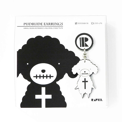 PUDRUDE EARRING