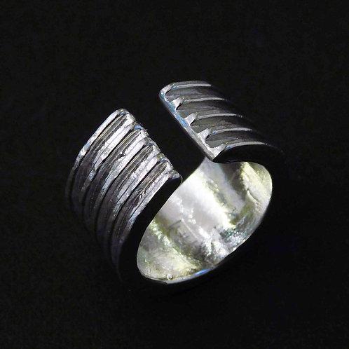 《4-si-》錫のイヤーカフ