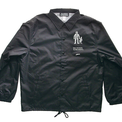 《INC NOXXX SCREAMING》EJECT LOOP coach jacket / BLACK※送料無料