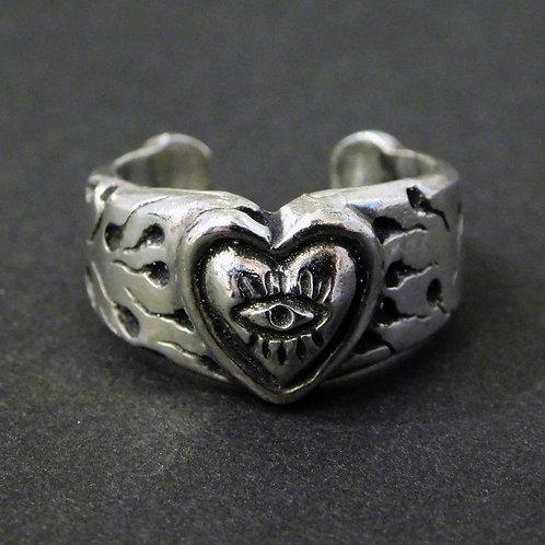 《Farimu》sperm ring silver925/16-17号※送料無料