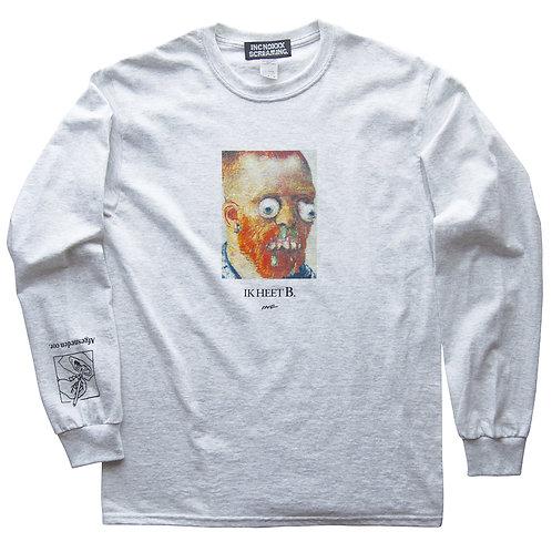 "《INC NOXXX SCREAMING》""B"" long sleeve T-shirt"