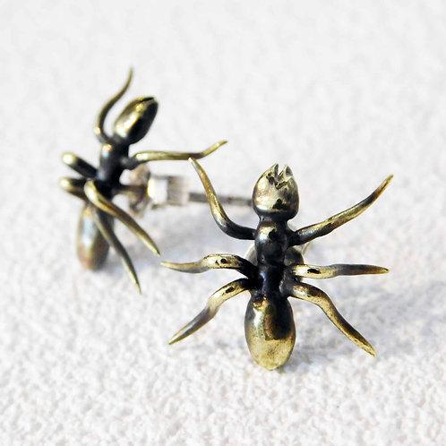 《ZOOCK》蟻のピアス/真鍮製