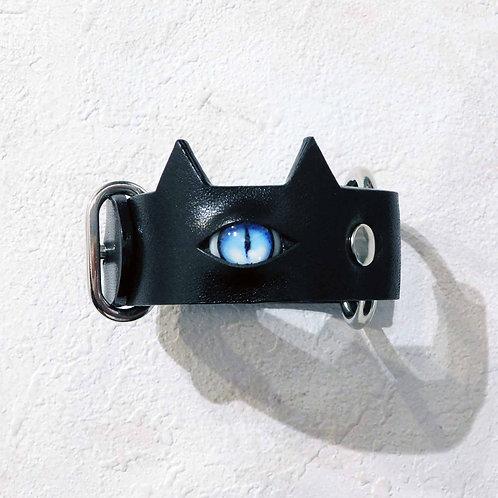 《CMYK Rewks》猫目ブレスレット / ブルー