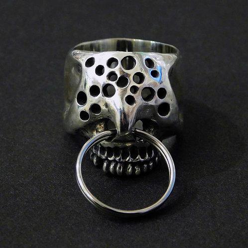 《Farimu》hole skull ring silver925/16-17号※送料無料