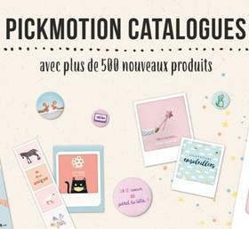 Le nouveau catalogue PICKMOTION est disponible !