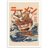 art-poster-great-ramen-off-kanagawa-ilus