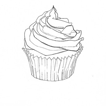 Cup Cake / Cacen by/gan R