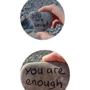You are Loved You are Enough/Mae yna cariad i ti • Rwyt ti'n ddigon by/gan C