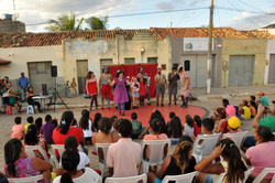 Espetáculo no Vale do Catimbau