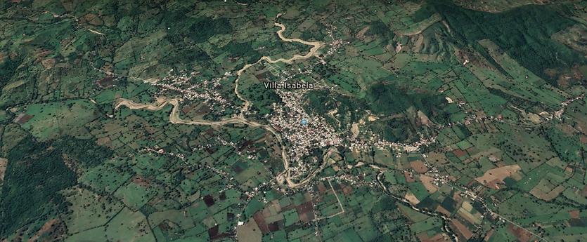 Vista Satelital Villa Isabela