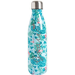tropical double wall flask bottle personalised