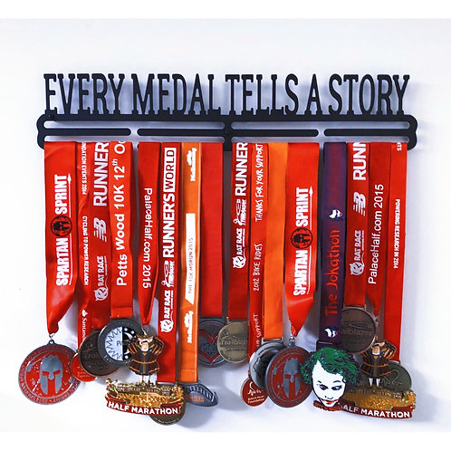 EVERY MEDAL TELLS A STORY