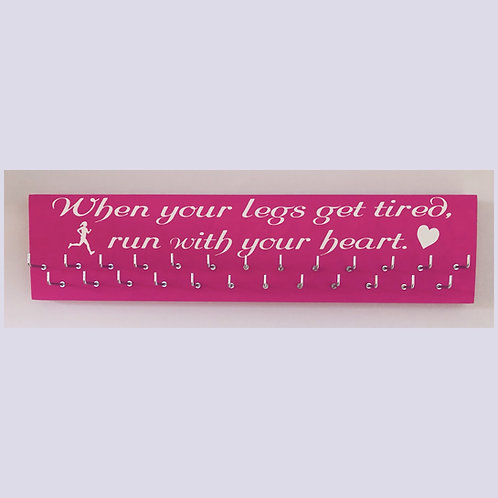 When your legs get tired, run with your heart 25 hook