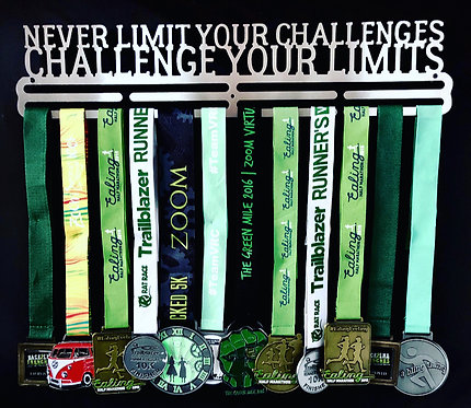 never limit your challenges CHALLENGE YOUR LIMITS