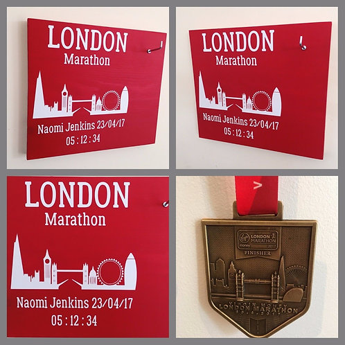 London Marathon Skyline Medal hanger
