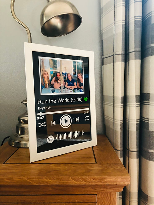 Spotify Scan and Play Frame