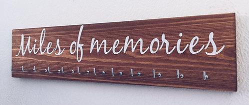 Miles of memories. Rosewood Medium Hanger 12 Hooks