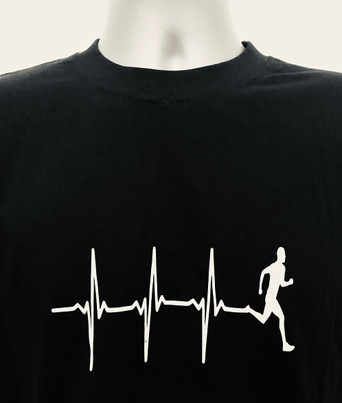 Heart rate runner T shirt