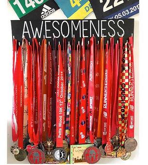 awesomeness wooden medal hanger.jpg