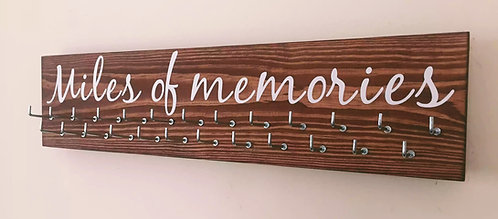 Miles of memories. Rosewood Medium Hanger 25 Hooks
