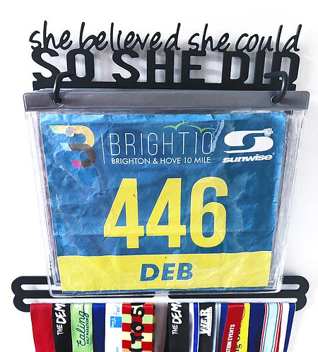 she believed she could SO SHE DID --- Bib holder