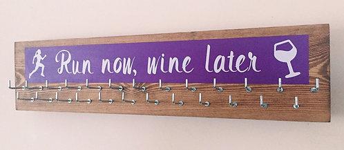 Medium 25 hook colour splash. Purple. Run now, wine later