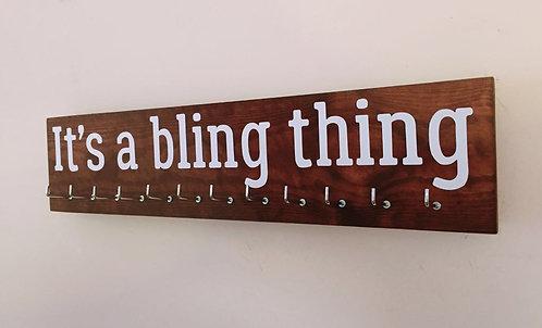 It's a bling thing. Rosewood Medium Hanger 12 Hooks