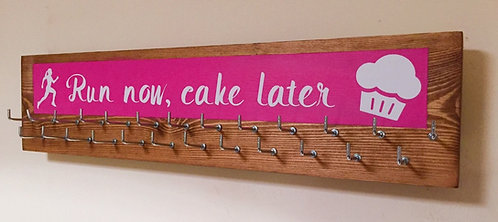 Medium 25 hook colour splash. Pink. Run now, cake later