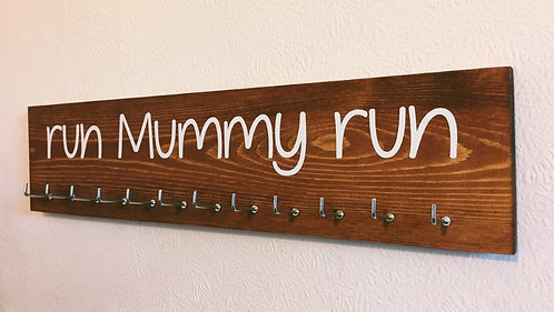 run Mummy run. Rosewood Medium Hanger 12 Hooks