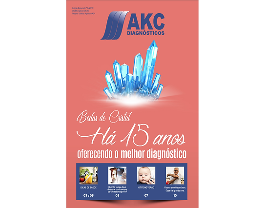 Imagem Revista Junho - Aniversario 15 An