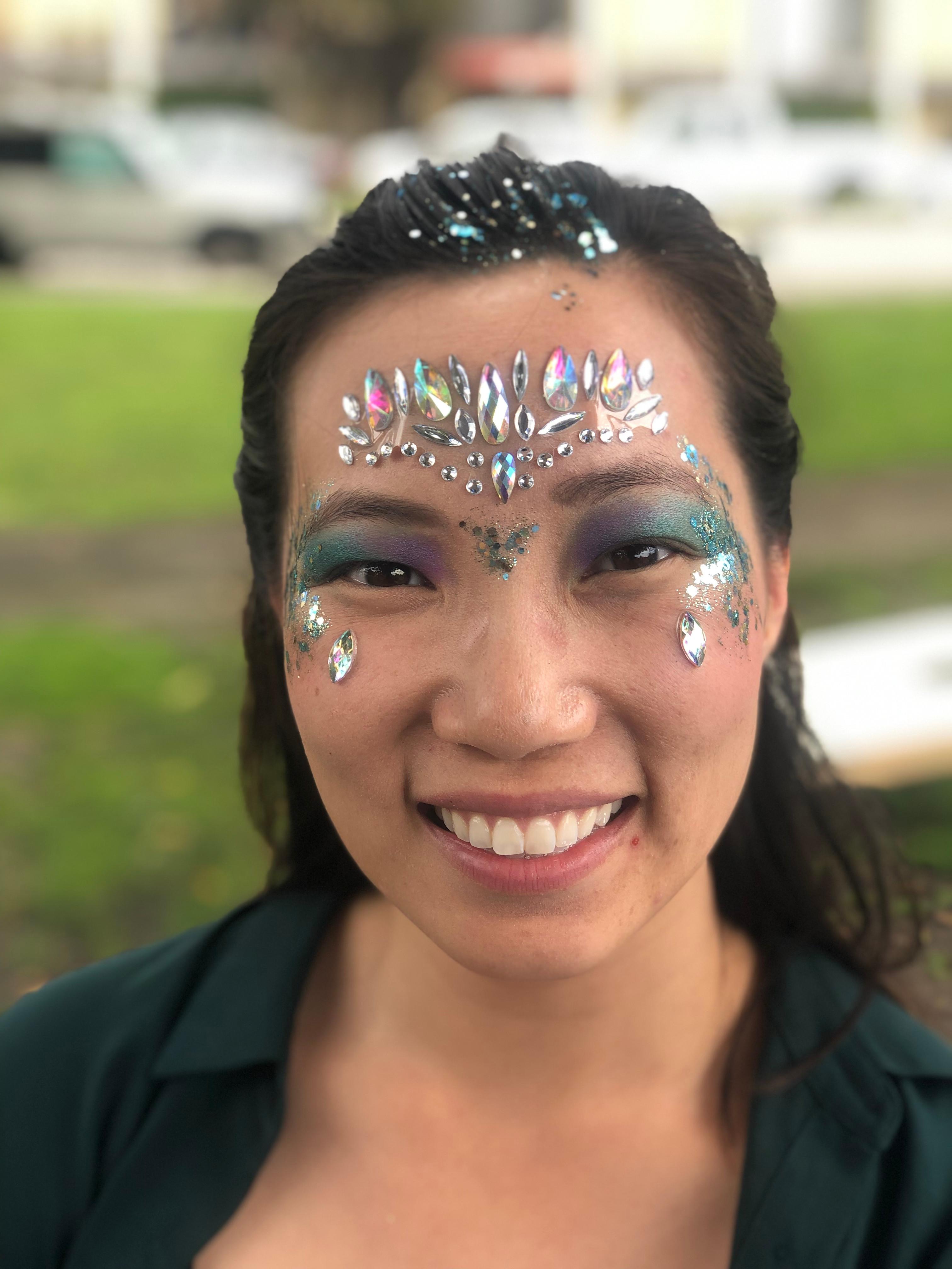 Festival make up+gems Package