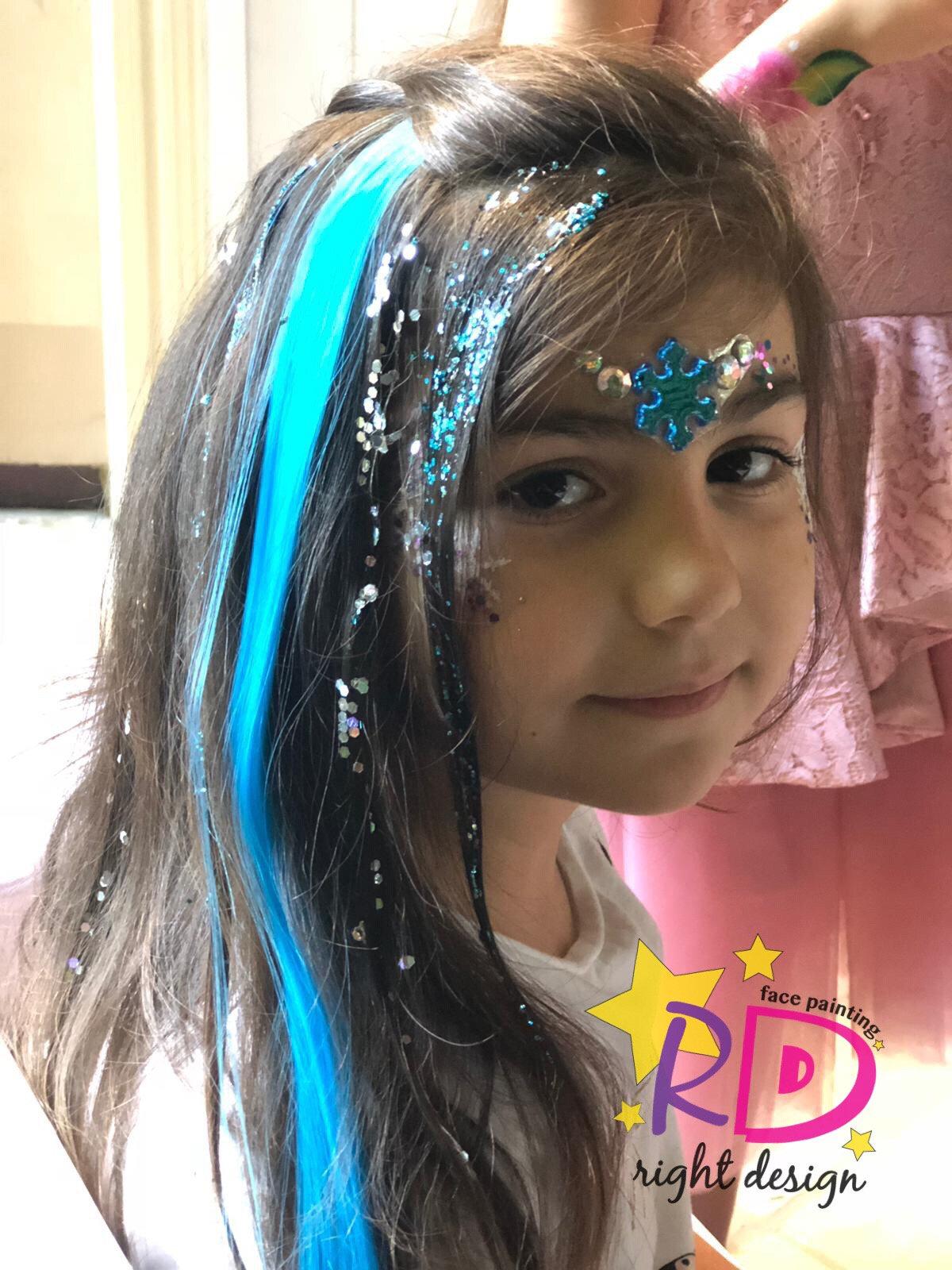 Unicorn Hair (color hair extension)