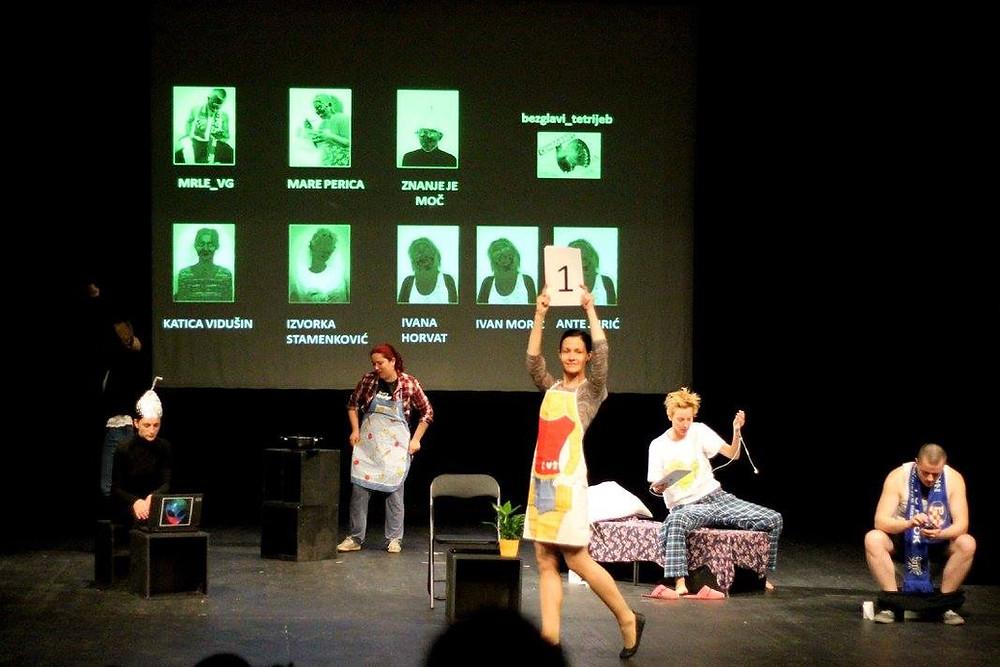 Predstava dramskog studija MojaScena na SKAZ festivalu 2017