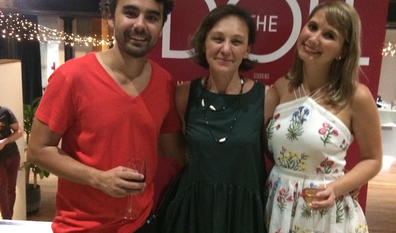 """Glumci i redateljica """"Lutke"""", Sydney, ožujak 2018"""
