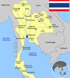 Carte de l'Isan