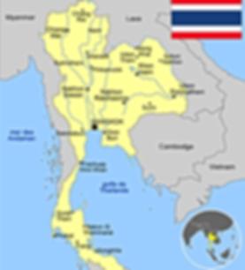 Thaïlande authentique. Carte Isan Surin.
