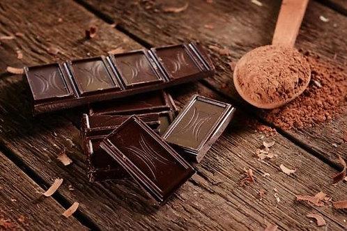 Tablette de chocolat noir 70% cacao, 90 g environ